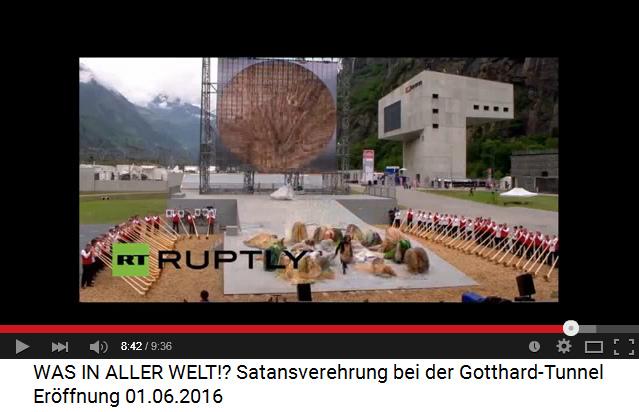 Satanisten am                             Gotthard-Basistunnel 09: Totale Unterwerfung                             unter den Steinbock 01