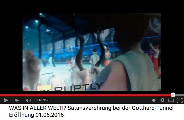 Satanisten am                             Gotthard-Basistunnel 11: Steinbock bzw.                             Ziegenbock im Tunnel