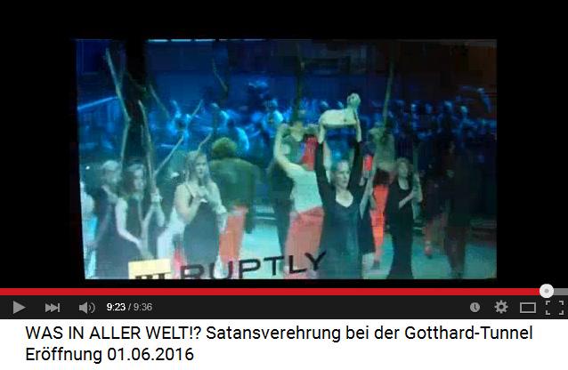 Satanisten am Gotthard-Basistunnel                             12: Opferlamm im Tunnel